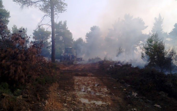 Πώς ο στρατός ανοίγει τις αντιπυρικές ζώνες στις πυρκαγιές του Αυγούστου