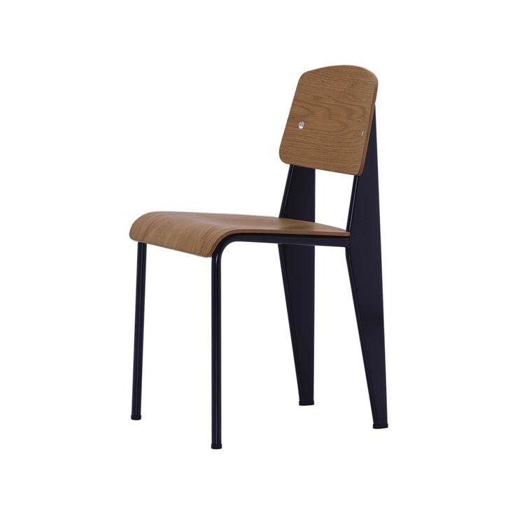 Standard stol - Standard stol - amerikansk valnöt, deep black