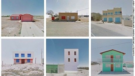 Jacqui Kenny suffers from agoraphobia, but she travels the world from the comfort of her home via Google Street View -- sharing beautiful sights on her Instagram feed.
