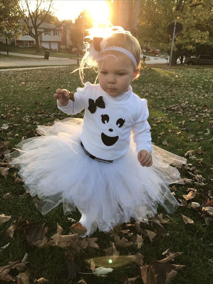 Tutu ghost Halloween costume