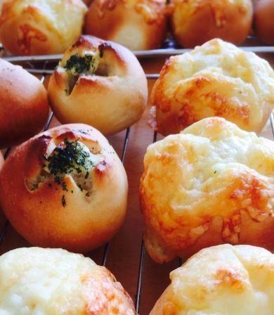 「チーズエッグパン&ガーリックツナポテトパン」ノゾマ   お菓子・パンのレシピや作り方【cotta*コッタ】
