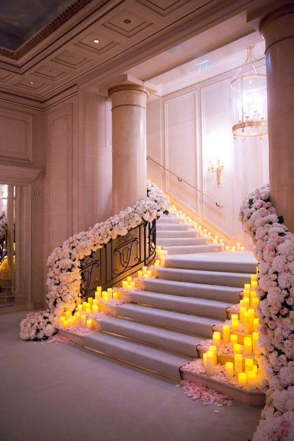 Glam floral wedding decor: Photography: Le Secret D'Audrey - http://lesecretdaudrey.com/