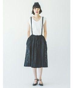 JQ SUSPENDERS SK #SINDEE #Kanoco #fashion
