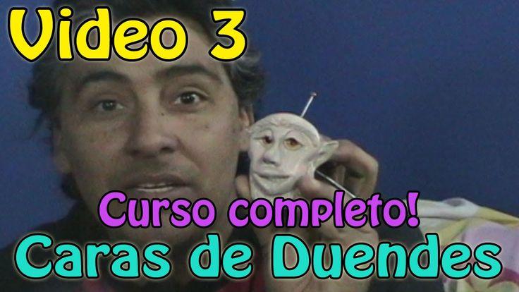 Como hacer la cara de un duende  Video #3