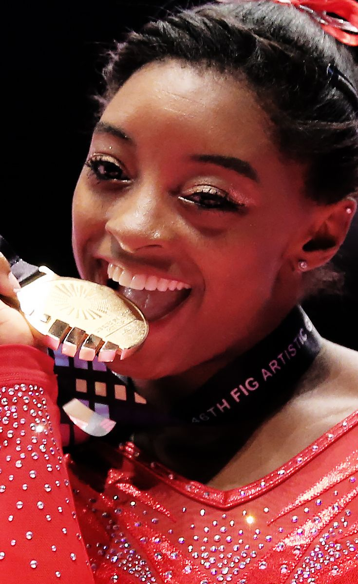 American Gymnast Simone Biles Just Made History At The World Championship