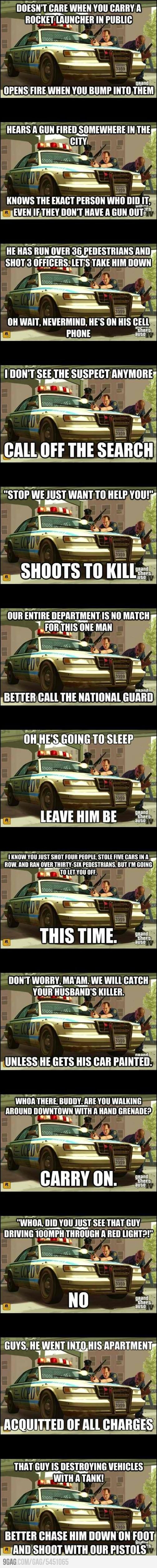 This is why we love Grand Theft Auto So Much!