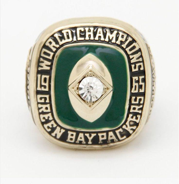 Super Bowl 1965 Green Bay Packers fashion Custom Sports Men World Championship Ring