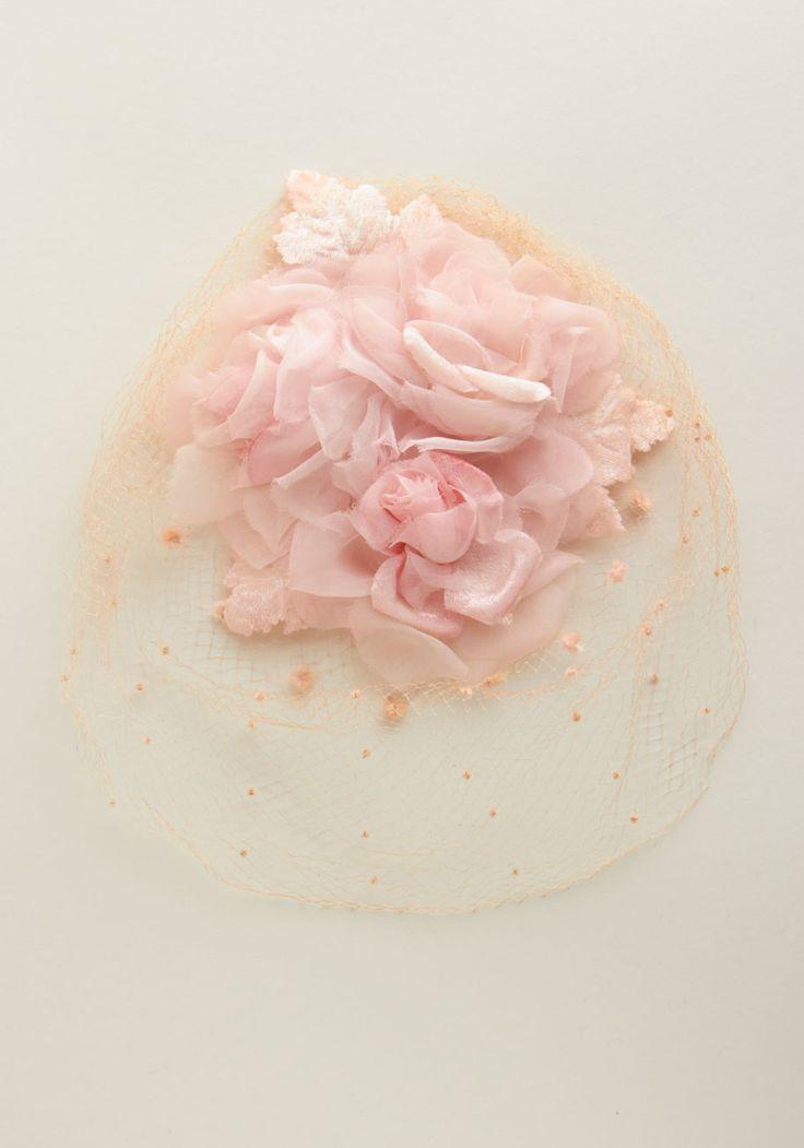 Vintage Petals for Panache Fascinator.   #modcloth