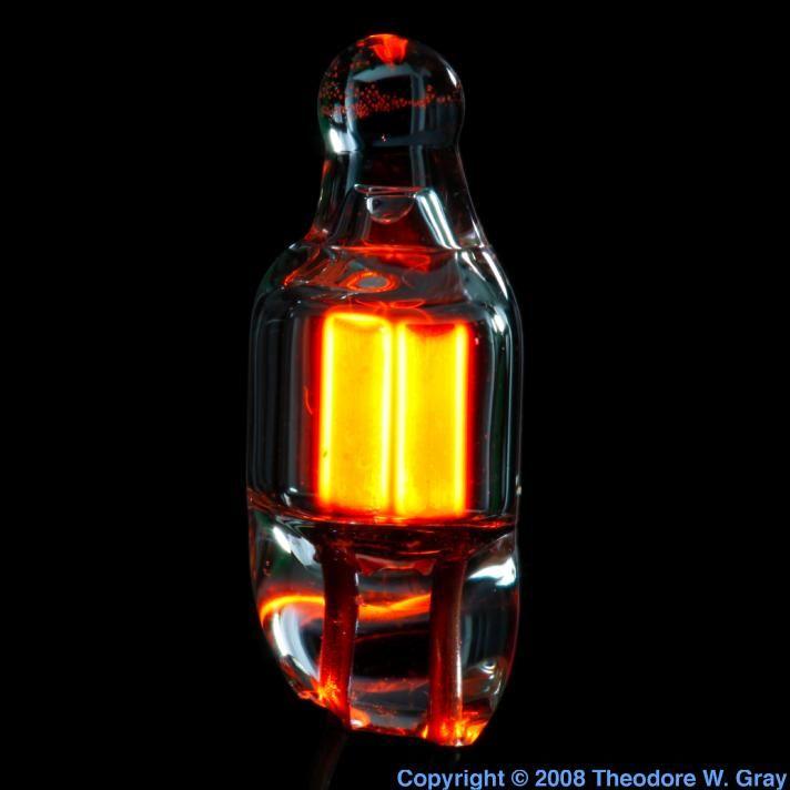 Neon Tiny neon bulb lit s13s