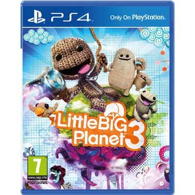 PS4 LittleBigPlanet 3  Gebruik de unieke vaardigheden van Sackboy en zijn nieuwe vrienden Toggle OddSock en Swoop om alle hoeken van de Imagisphere te verkennen en de geheimen van de planeet Bunkum te ontrafelen.  EUR 19.99  Meer informatie