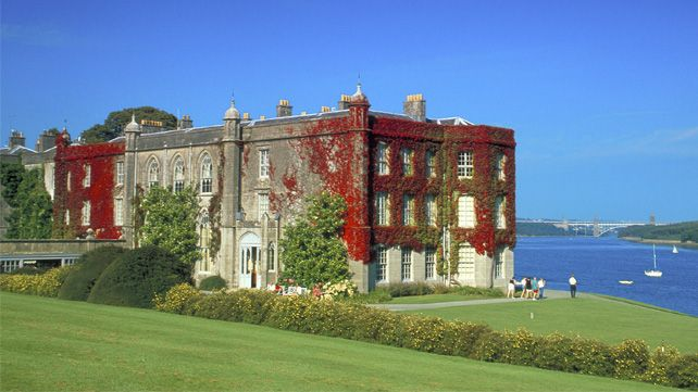Plas Newydd on the shore of Anglesey, Wales, is famous for its association with the artist Rex Whistler, whose work is exhibited there. There is also a military museum on site and a beautiful collection of hydrangeas that are irresistibly colourful during the autumn months!