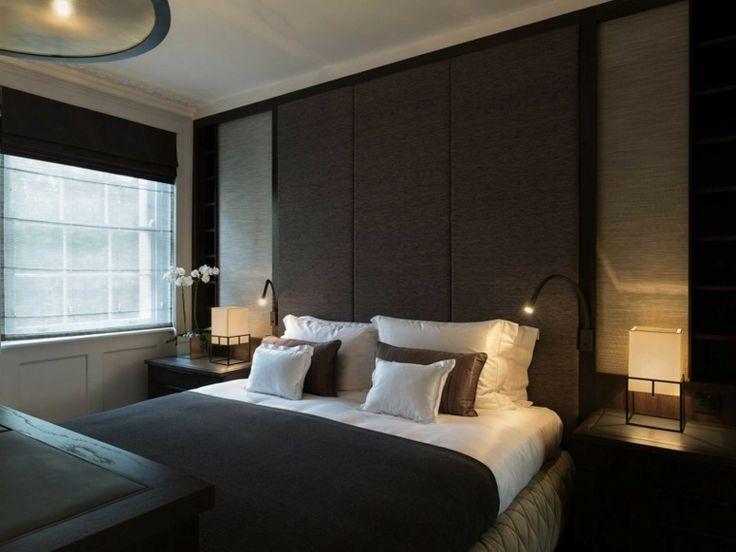 Decoracion ambientes 26 dormitorios elegantes oscuro for Dormitorio oscuro decoracion