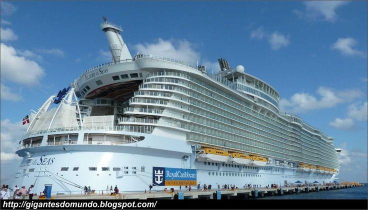 Allure of the Seas Specs   ... navio, o MS Allure of the Seas foi inaugurado em dezembro de 2010