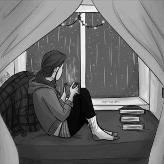 Cozy rainy days.