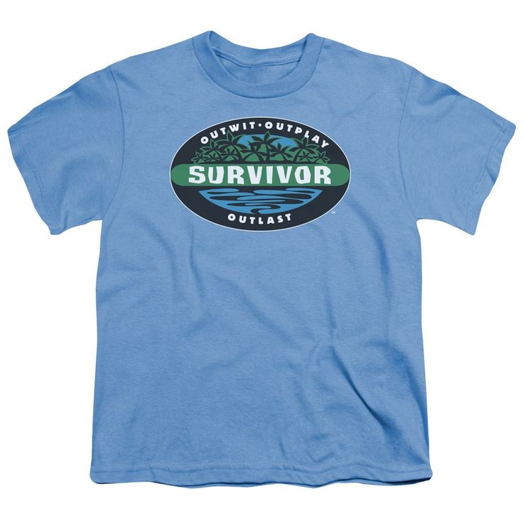 Survivor/Borneo Short Sleeve Youth 18/1 Carolina