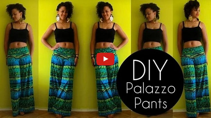 A pair of fantastic palazzo pants in under 30 minutes?!?! Here's how!