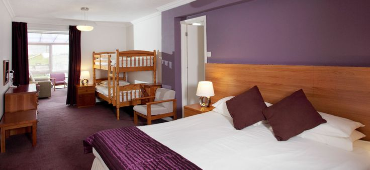 The Esplanade Hotel | Family Room Newquay  #ilovenqy