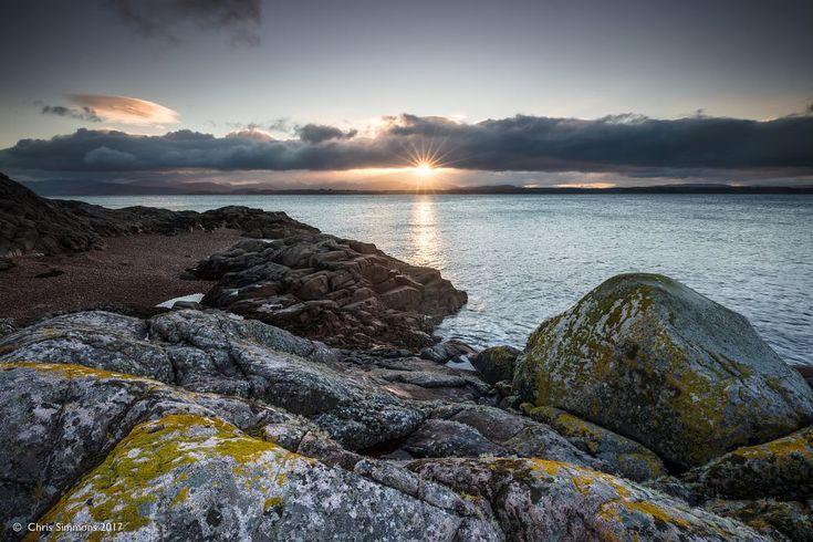 Lyn of Morvern Sunburst by Chris Simmons Photography