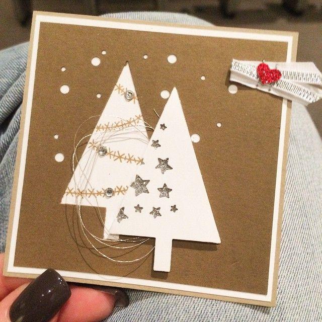 Weihnachtskarte - Stampin up