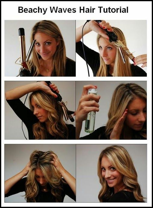 The 25 best wavy hair tutorials ideas on pinterest wavy beach 8 wavy hair tutorials how to get wavy hair urmus Gallery