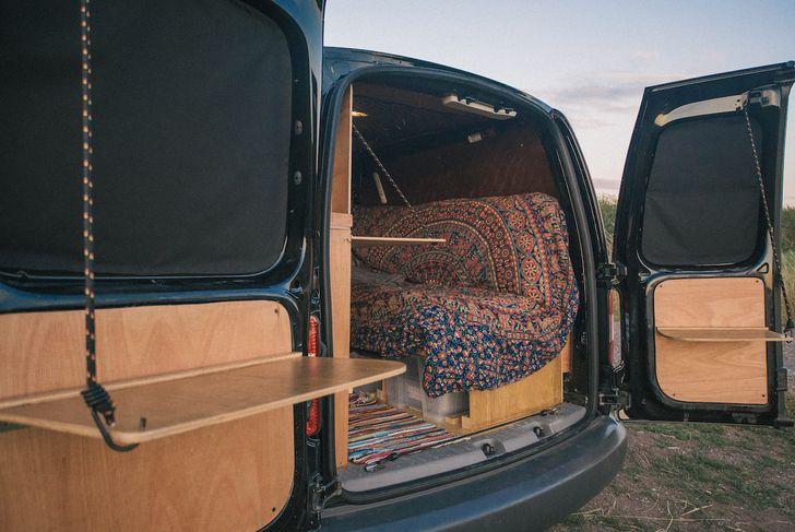 vw caddy camper conversion camper conversion campers. Black Bedroom Furniture Sets. Home Design Ideas
