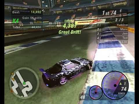 NFSU2 - Hidden Drift, Stage 4, RX-7 | NFSU2 Videos | Stage, Toys