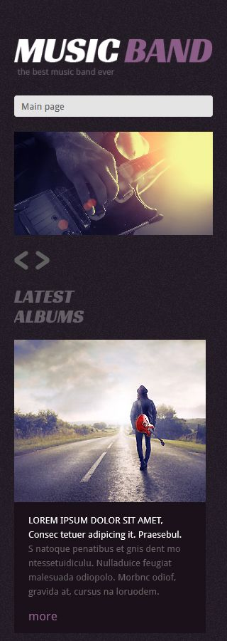 Music Most Popular website inspirations at your coffee break? Browse for more WordPress #templates! // Regular price: $75 // Sources available: .PSD, .PHP, This theme is widgetized #Music #Most Popular #WordPress
