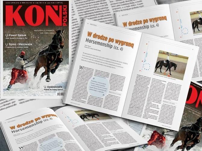HORSEMANSHIP- ekspert CLAUS THEURER. luty/february Koń Polski Magazy