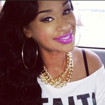 """5"""" Big Gold Hoop Earrings Great for Wearing alone or with Beads As seen on Love & Hip Hop Dj Traci Steele"""