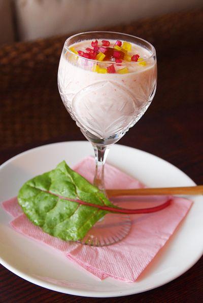 ジュレで楽しむ・・・赤パプリカのムース♪ by misyaさん | レシピ ...