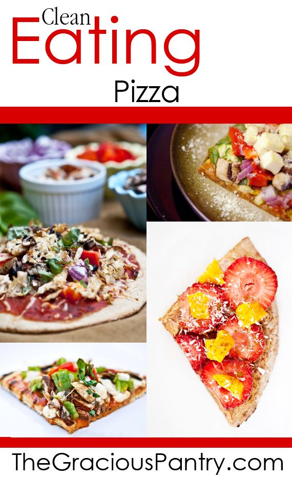 22 best clean eating pizza recipes images on pinterest clean