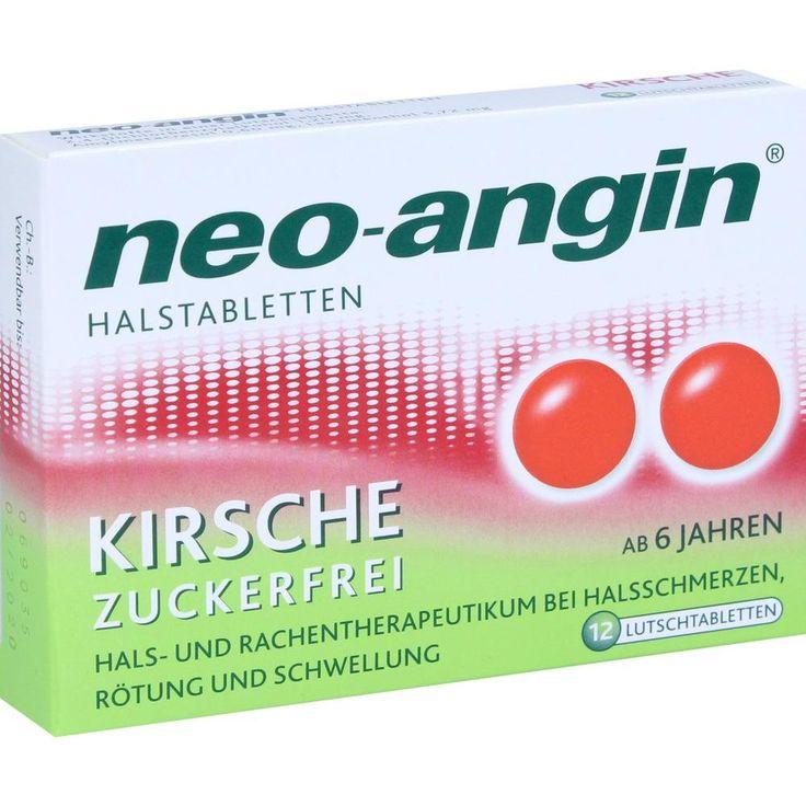 NEO ANGIN Halstabletten Kirsche:   Packungsinhalt: 12 St Lutschtabletten PZN: 10994817 Hersteller: MCM KLOSTERFRAU Vertr. GmbH Preis:…