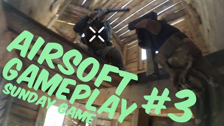 Страйкбол / Airsoft gameplay #3 / Воскресная тренировка / Лучшие моменты