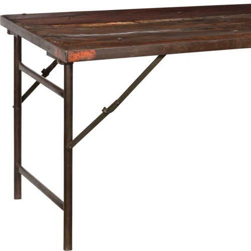 Rustikt fällbart bord - Trä i gruppen Bord / Matbord hos Reforma Sthlm  (M03060)