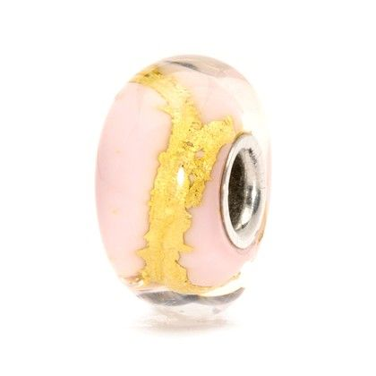 Pink Gold Bead