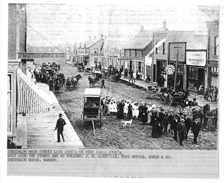 Main Street Thessalon, Circa 1900