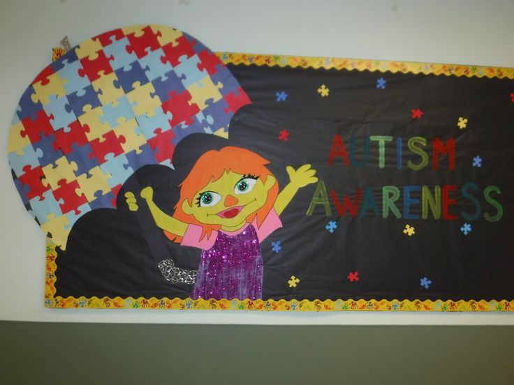 Children's Center of Monmouth County Autism Awareness Sesame Street - Julia theme #AutismNJ #AutismNJAmbassador #Autismawarenessmonth