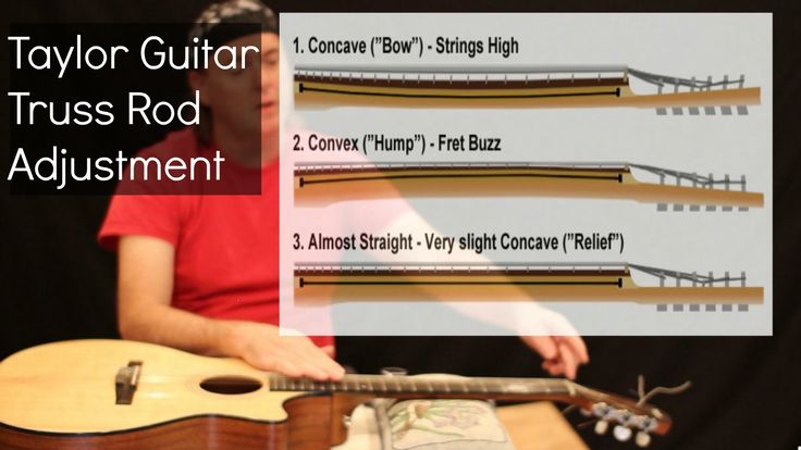 A quality guitar usually has the truss rod adjusted at the ...
