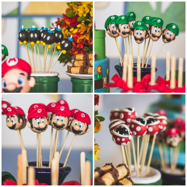 Aqui Você Vai Encontrar Muitas Ideias Para Uma Festa Tema Mario Bros Perfeita.