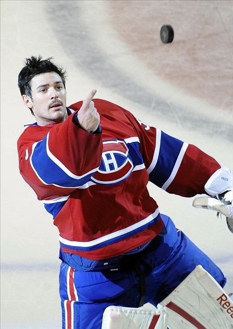 Carey Price ... hell, I don't know what he's doing. Goalies are crazy.