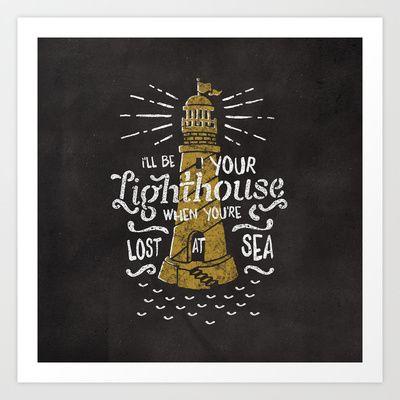 Lost At Sea Art Print by Seaside Spirit - $14.56