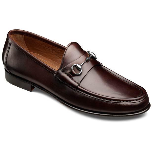 Allen Edmonds Verona II Italian Loafers 40004 Brown Leather in 8.5 wide