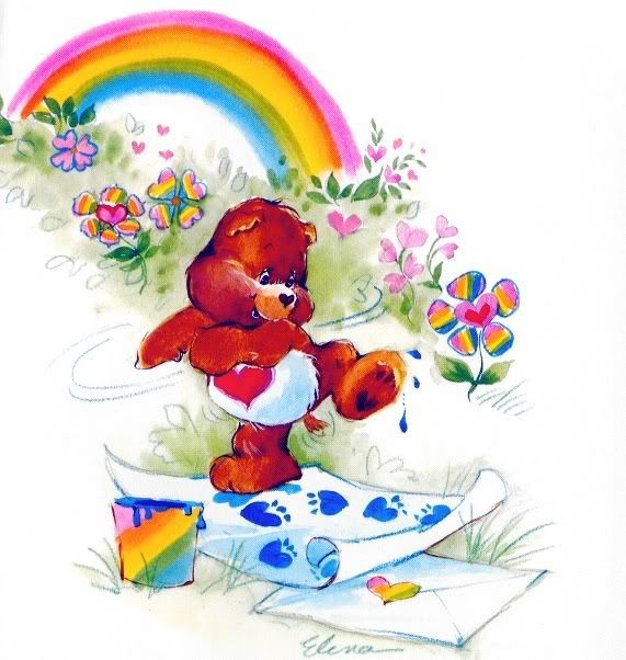 Care Bears: Tenderheart Painting
