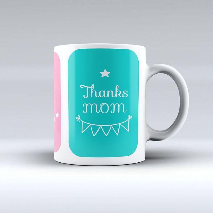 Mug Thanks Mom - Imaginaerum Regalos Bogotá C