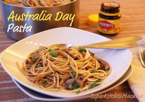 Nigella Lawson & Vegemite Spaghetti for Australia Day | Super Kitchen Machine (Thermomix)