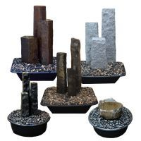 Stone Fountains - Cascade Stoneworks | Basalt Columns, Fountains & Tiles