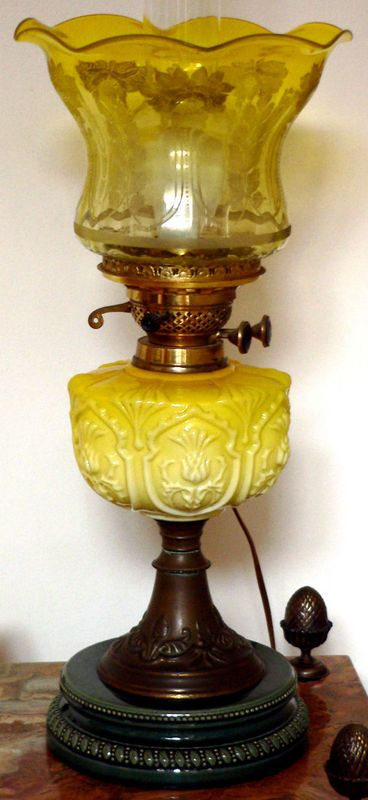1000 Images About Vintage Lamps On Pinterest Glass