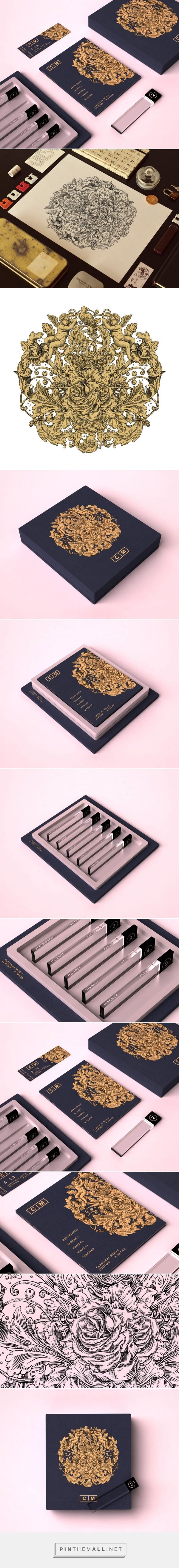 Packaging Design: Classical Music Collection by Valentin Leonida - created via http://pinthemall.net