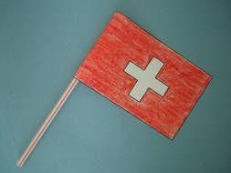 Mini Switzerland Flag