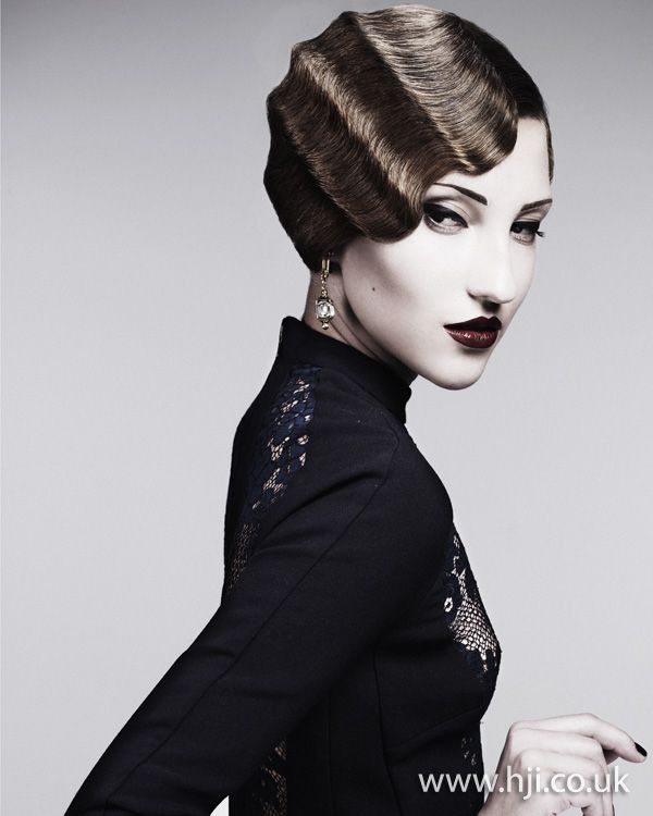 Alan Konizi - British Hairdresser of the Year 2011  Updated finger wave.: Hair Ideas, 1930 S Hair, Deep Waves, Big Hair, Fingers Waves, Beautiful Fingerwav, British Hairdresser, Waves 3, Gorgeous Fingers
